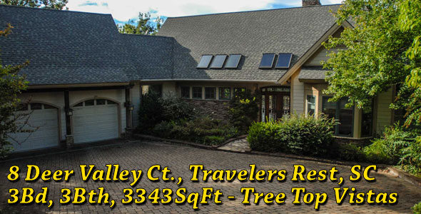 8 Deer Valley Ct., Travelers Rest, SC