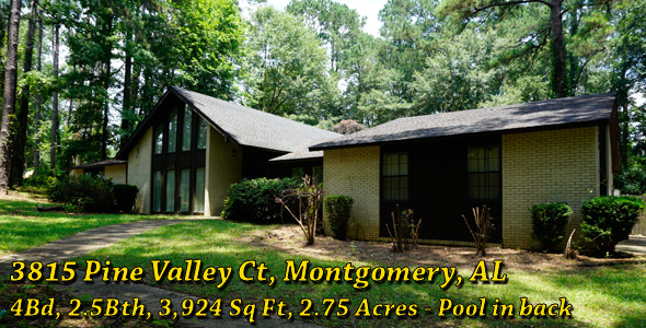 3815 Pine Valley Ct., Montgomery, AL