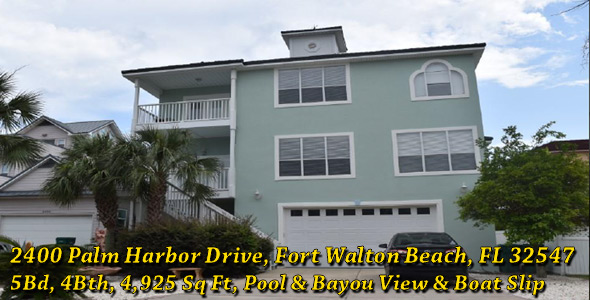 2400 Palm Harbor Drive, Fort Walton Beach, FL